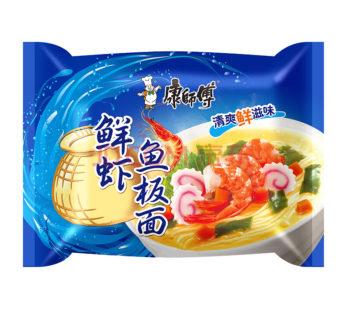 Лапша быстрого приготовления cо вкусом морепродуктов 82g