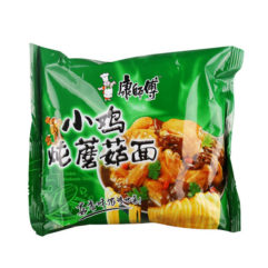 Лапша быстрого приготовления курица и грибы 82 гр. 康师付-小鸡炖蘑菇面 6920698433703 купить в Красноярске