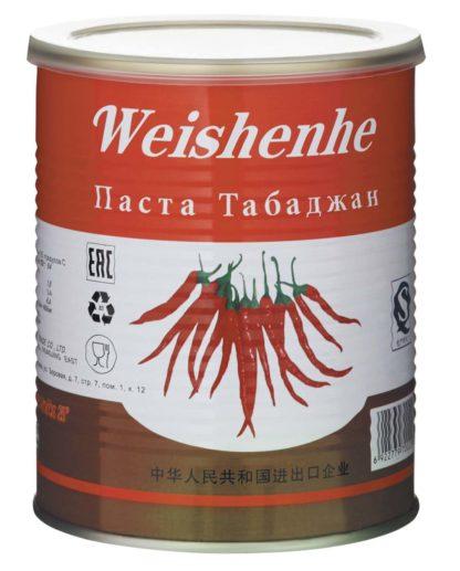 Купить Острая паста перцовая Табаджан (Tabadzhan) 1000гр. 6922779700209 в Красноярске