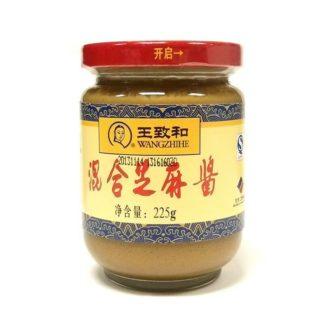 Купить кунжутную пасту с арахисовым маслом 225 гр. в Красноярске