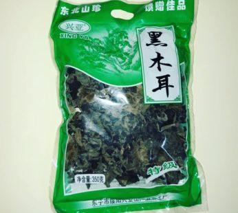 Грибы древесные сушеные Муэр черные 400 гр.