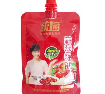 Пикантный чесночно томатный соус 100 гр.