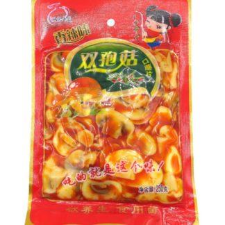 Салат грибы шампиньоны острые, пряные 250 гр. 6941380100147 купить в Красноярске продукты из Китая
