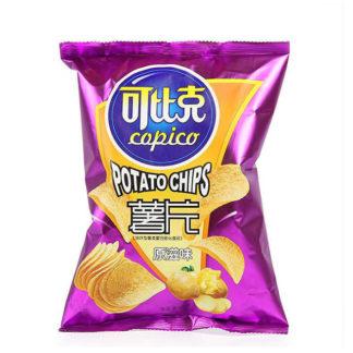 Картофельные чипсы вкус Оригинал 60гр. купить доставка Россиия Красноярск краспанда панда продукты из Китая 6911988006479