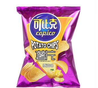 Картофельные чипсы 可比克 Copico вкус Оригинал 60гр.