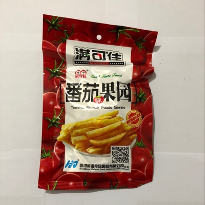 Картофельные палочки со вкусом томата 番茄果园 23гр. 6939241400215 купить с доставкой по России