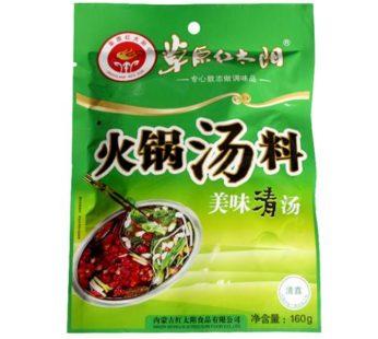 Основа для супа горшка ФО ГО 草原红太阳清汤火锅汤料 160 гр.