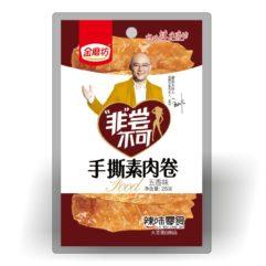 Вегетарианские мясные рулетики 手撕素肉卷五香味 26 гр. купить в Красноярске 6925678102990