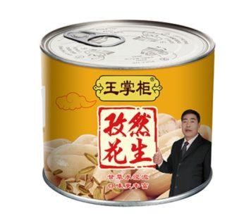 Вкуснейший консервированный арахис с тмином 罐装孜然花生 152гр.