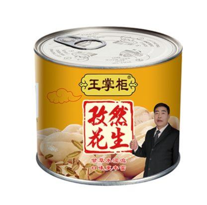 Консервированный арахис с тмином 罐装孜然花生 152гр. купить доставка по всей России 6923866602789