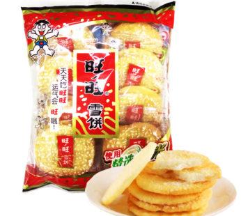 Рисовое печенье с кунжутом 旺旺雪饼 84гр.