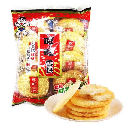 Рисовое печенье с кунжутом 旺旺雪饼 84гр. 6920297212303 купить доставка Россия Красноярск
