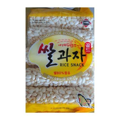 Печенье из воздушного риса Корея 130гр. купить доставка магазин kraspanda панда продукты из Китая 8801566036586