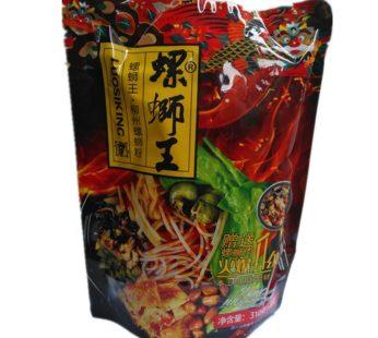 Суп лапша с мясом улитки Luosifen 袋螺螄粉非火雞酸辣粉泡麵螺螄粉 310гр.