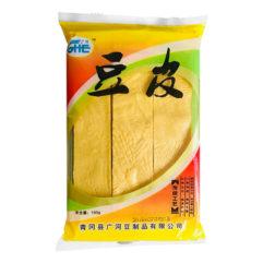 Соевое мясо пластинки для китайских блюд 广河豆皮 150гр. 6970901180016