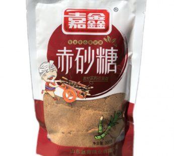 Тростниковый коричневый сахар 甘福源 优质绵白糖 300гр.