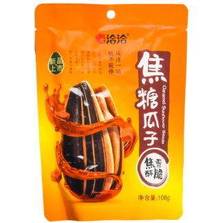 Купить с доставкой Семечки со вкусом карамели Qiaqia 108 гр. из Китая в наличии
