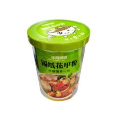 Лапша суп быстрого с овощами и маюскулами в пряном соусе 210гр.
