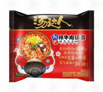 Корейская лапша 汤达人 130гр(разные вкусы)