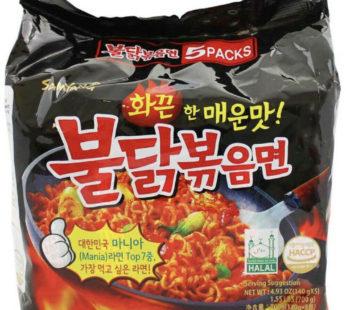 Корейская Лапша SamYang(курица) в упаковке и поштучно 140гр-700гр