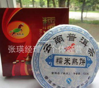 Чай Шу Пуэр блин, Ma Dui Zhang, Nuomixiang, 100гр