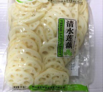 Маринованный свежий корень лотоса в пакетике, Fresh Lotus Root, 1кг