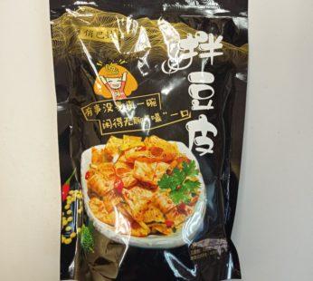 Салат из жаренных пластинок тофу 拌豆皮  220гр.