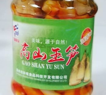 Бамбук маринованный в банке Gao Shan Yu Sun, 350 гр
