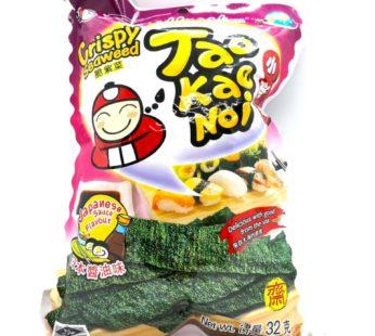 Чипсы из водорослей с японским соусом ТМ «TAO KAE NOI», 32гр.