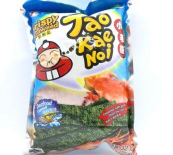 Чипсы из водорослей со вкусом морепродуктов ТМ «TAO KAE NOI», 32гр.