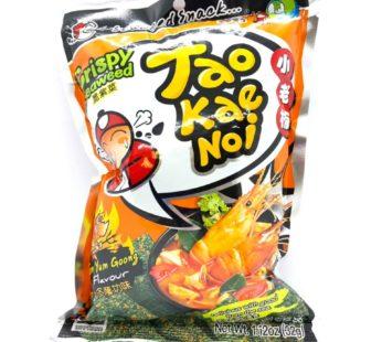 Чипсы из водорослей со вкусом  Том Ям ТМ «TAO KAE NOI», 32гр.