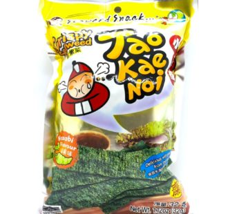 Чипсы из водорослей со вкусом васаби ТМ «TAO KAE NOI», 32гр.