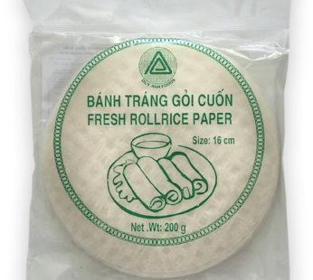 Бумага рисовая для фреш роллов 16см (FRESH ROLL) 200гр.