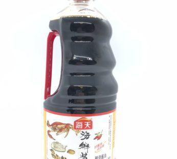 Соевый соус «КРАБОВЫЙ» Tasty seafood flavored sauce, 1.28 мл. Хадай