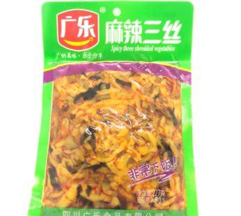 Острый пряный салат  麻辣三丝 , 230гр.