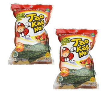 Чипсы из водорослей со вкусом красного перца ТМ «TAO KAE NOI», 15гр.