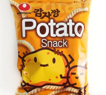 Чипсы со вкусом картошки(Potato snack) Nongshim, 55гр.